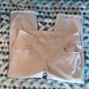 Jag Jean's cropped Size 16W